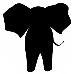 Elephant Silhouette Clipart at GetDrawings.com | Free for personal ...