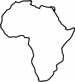 Africa Map Silhouette at GetDrawings.com | Free for personal use ...