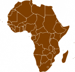 Africa clipart transparent - Pencil and in color africa clipart ...