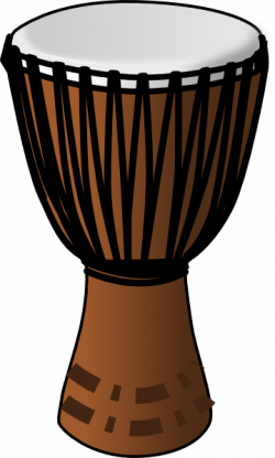 Clear African Drum Clip Art at Clker.com - vector clip art online ...