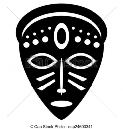 28+ Collection of African Mask Drawing Easy | High quality, free ...