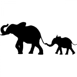 EASY Safari Animal Decor: African SAFARI ANIMAL SILHOUETTE wall ...