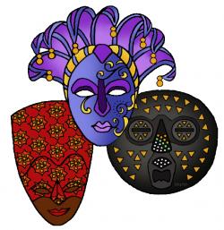 African Masks - Africa for Kids