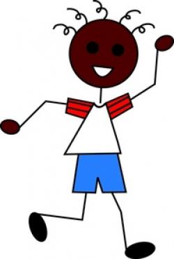 Running stick figure clip art | Clipart Panda - Free Clipart Images