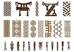 Free African Symbol Set Clipart and Vector Graphics - Clipart.me