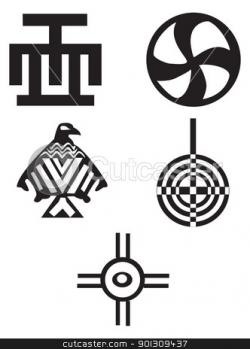 Native Indian Symbols Clipart