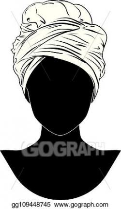 Vector Art - African style turban. EPS clipart gg109448745 ...