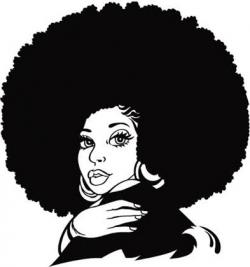Natural Black Hair Clipart Clipart Panda Free Clipart Images ...