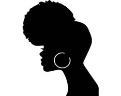 Black Woman Silhouette Clip Art at GetDrawings.com | Free for ...