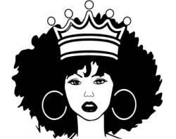 Black woman clipart | Etsy