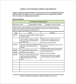 sample meeting minutes document - Incep.imagine-ex.co