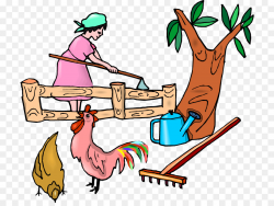 Chicken Farmer Agriculture Clip art - Rural women with illustrations ...