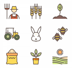 Agriculture Icons - 261 free vector icons