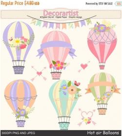 Hot Air Balloon clipart, hot air balloons clipart, balloon clipart ...