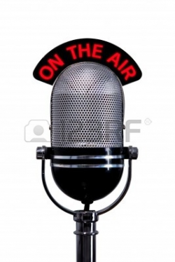 microphone on the air : Retro | Clipart Panda - Free Clipart Images