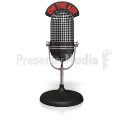 Radio Mic On The Air - Presentation Clipart - Great Clipart for ...