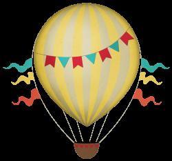 Vintage Hot Air Balloon Clipart transparent PNG - StickPNG
