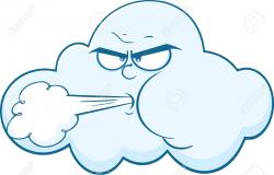 Cartoon Of Wind Clipart