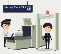 Airport Metal Detector 73 with Airport Metal Detector ...