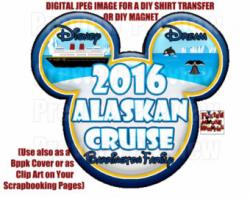 Printable Disney Cruise Shirt Transfer or Magnet Matching