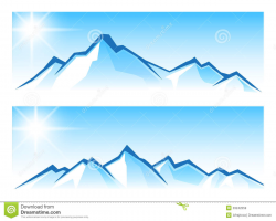 28+ Collection of Mountain With Snow Clipart | High quality, free ...