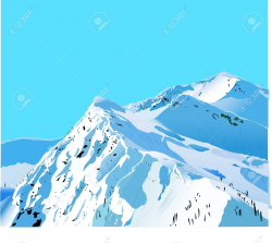 28+ Collection of Snow Mountain Clipart | High quality, free ...
