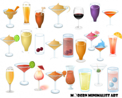 24 PNGS, Alcoholic Drinks, Beverages, Drinks, Clipart, Martini, Wine ...