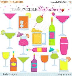 Thats the Spirit Clipart, Cocktail Drink Clip Art, Margarita ...