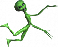 Alien Animations - Sci-fi Clipart - Animated