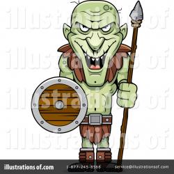 Goblin Clipart #1087418 - Illustration by Cory Thoman