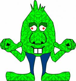 Alien clipart goblin - Pencil and in color alien clipart goblin