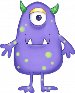 28+ Collection of Happy Monster Clipart | High quality, free ...