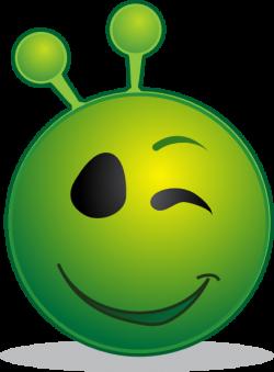 Smiley Alien Clip Art at Clker.com - vector clip art online, royalty ...
