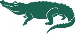 Alligator silhouette clip art - ClipartFest   alligators ...