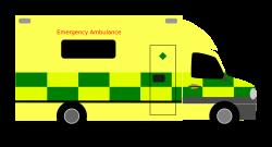 Clipart - British Ambulance
