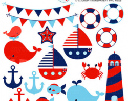 Nautical clipart | Etsy