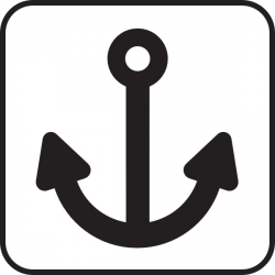 Ship Anchor clip art Free vector in Open office drawing svg ( .svg ...