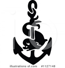Anchor Clipart #1127148 - Illustration by Prawny Vintage