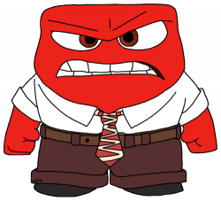 28+ Collection of Inside Out Anger Clipart | High quality, free ...