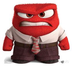 30 best ANGER - Inside/Out images on Pinterest | Disney inside out ...
