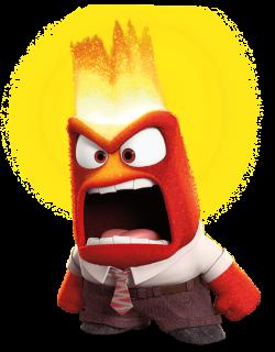 Anger Inside Out Transparent PNG Clip Art Image | Disney clip ...