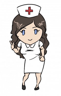 This gorgeous nurse clip art done in cute chibi style is free for ...