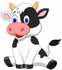 Pin by shoshanav on animals clipart | Pinterest | Cow, Clip art and ...