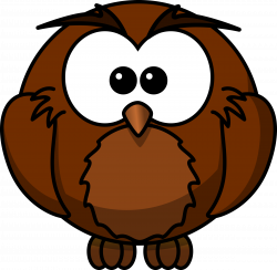 Clipart - wise Cartoon owl who has sat under a Mango tree for many ...