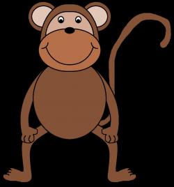 Monkey Clip Art Animals | Clipart Panda - Free Clipart Images