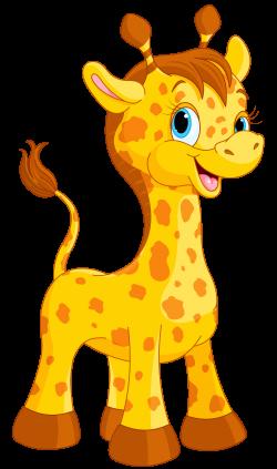 Cute Giraffe Cartoon PNG Clipart Image   Мультгерои   Pinterest ...