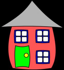 Cartoon House Clip Art at Clker.com - vector clip art online ...