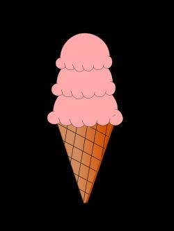 Clipart - Ice Cream and Sugar Cone Animation