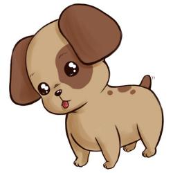 How to Draw a Cute Anime Cartoon Puppy -- via wikiHow.com | How to ...