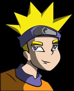 Clipart - Anime Boy